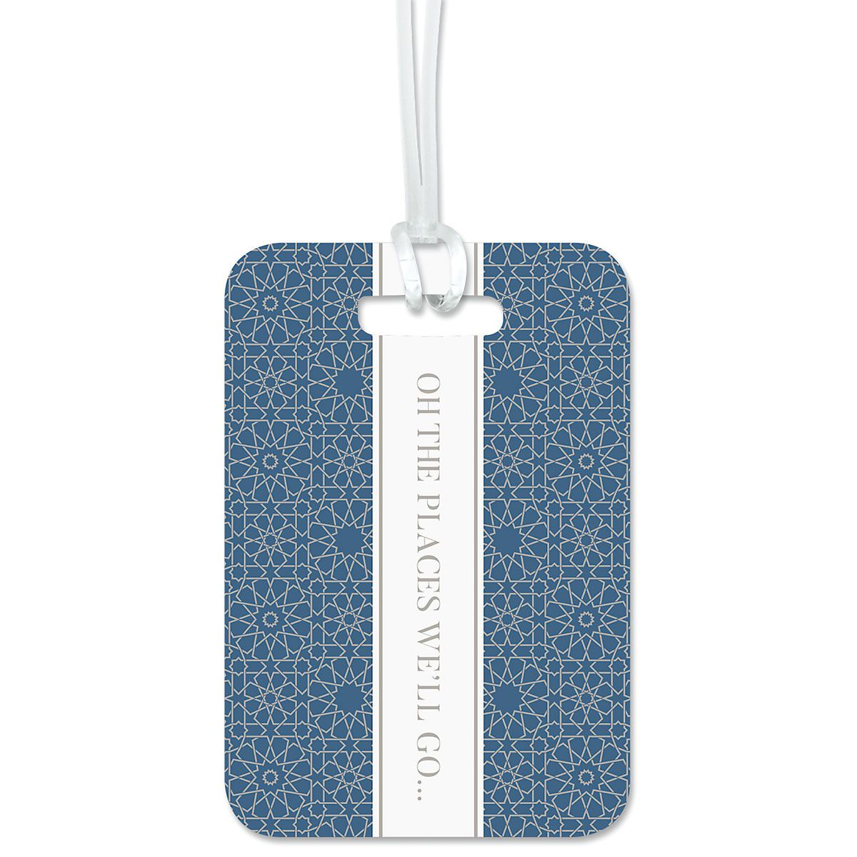 Oh The Places We'll Go Personalized Luggage Tag