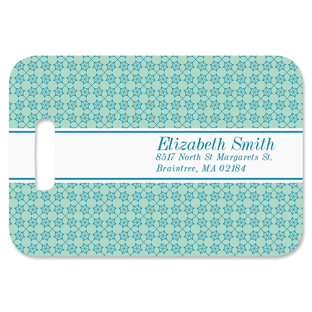 Jetsetter Personalized Luggage Tag