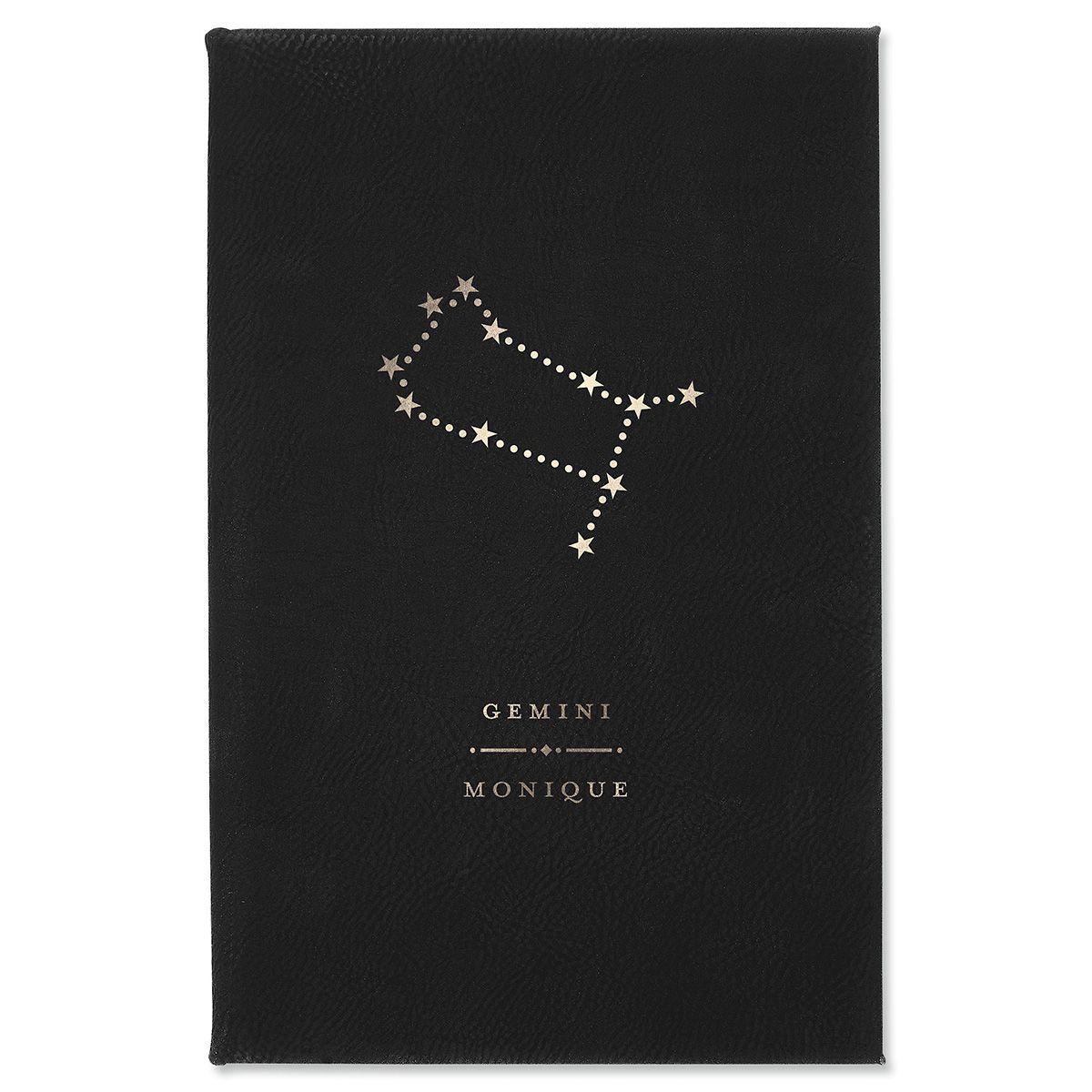 Gemini Zodiac Personalized Journal