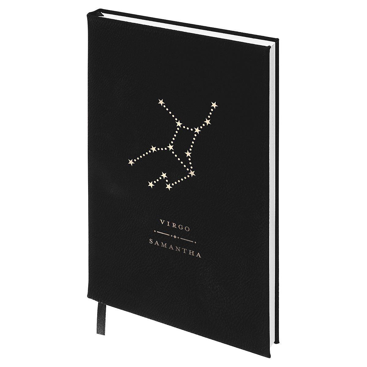 Virgo Zodiac Personalized Journal
