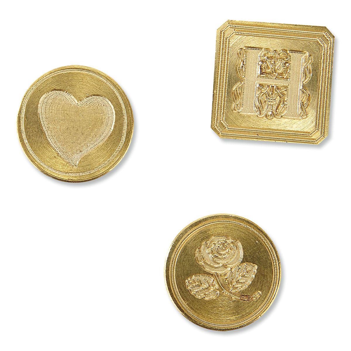 3 Stamp Wax Seal Kit