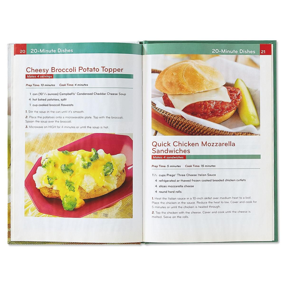 20-Minute Dishes Cookbook
