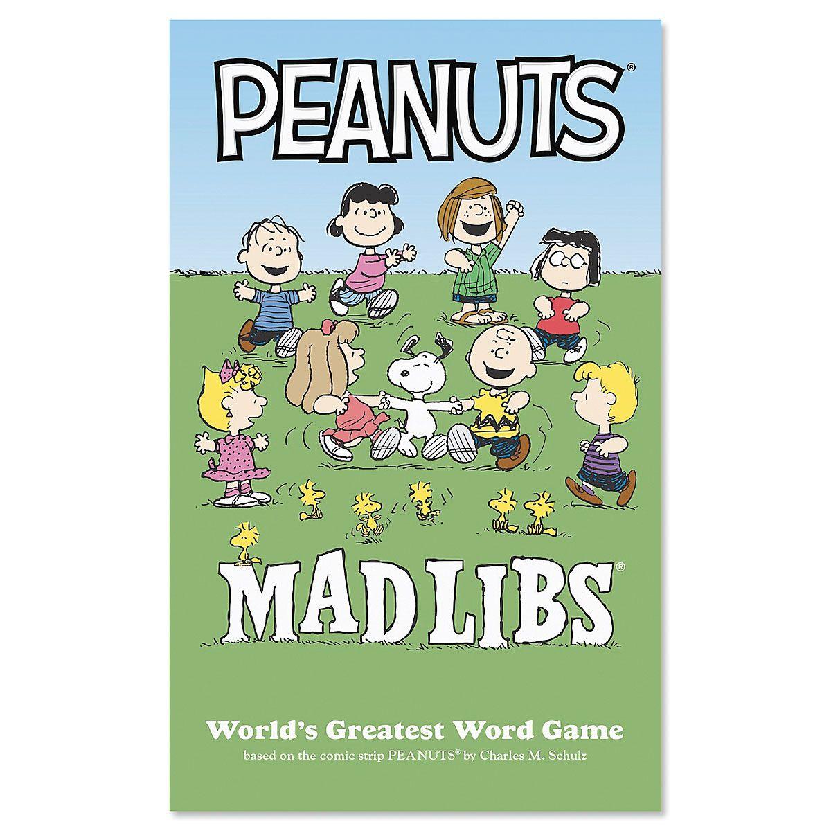 Peanuts® Mad Libs®