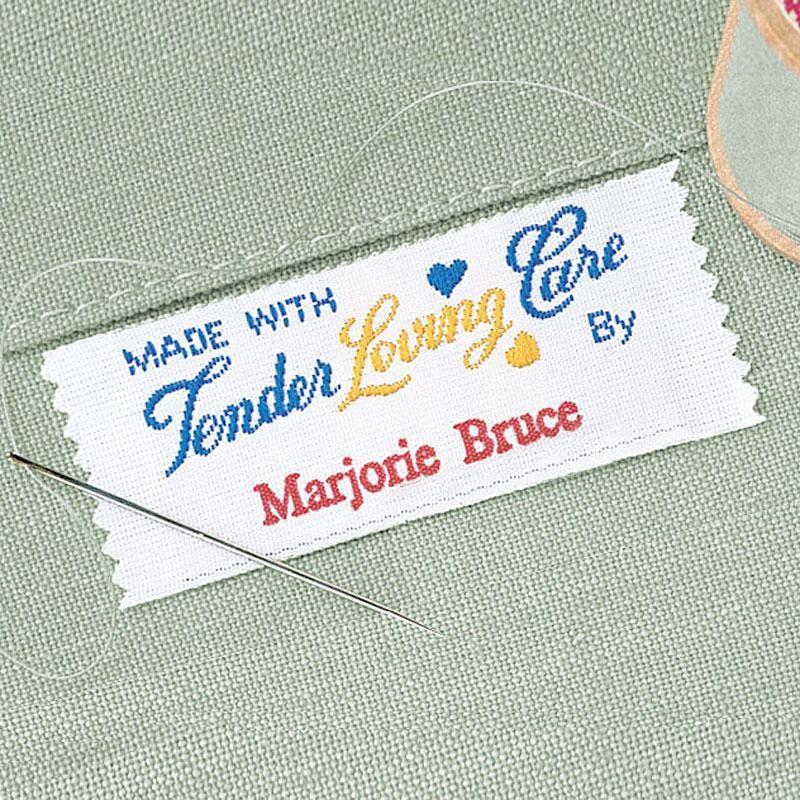 Tender Loving Care Sewing Label