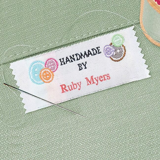 handmade labels for sewing handmade by sewing labels current catalog 5694