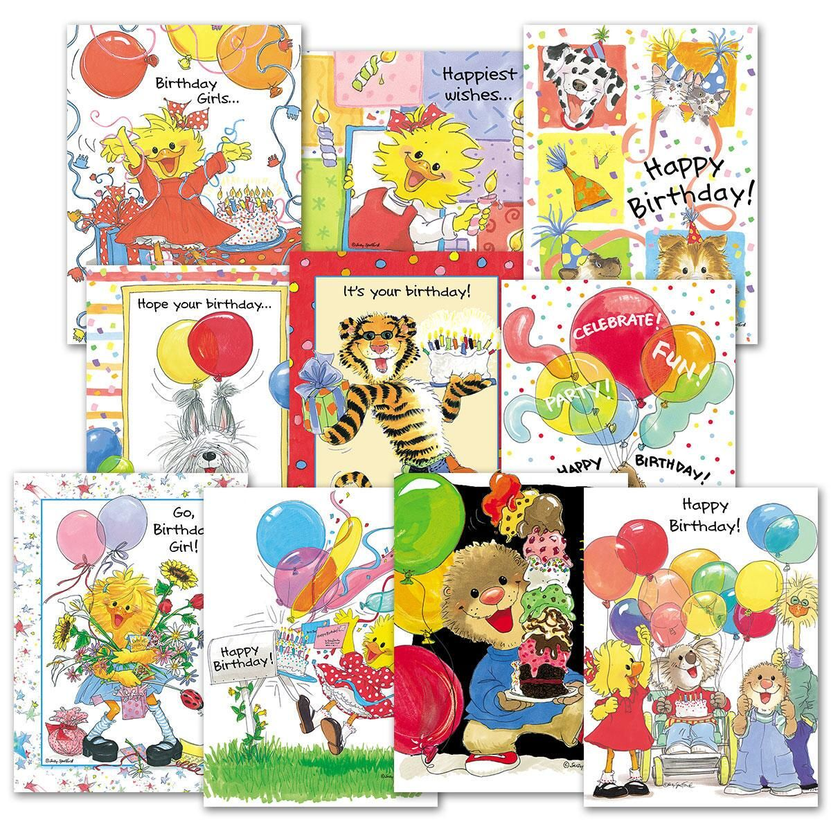 Suzy's Zoo® Birthday Cards Value Pack