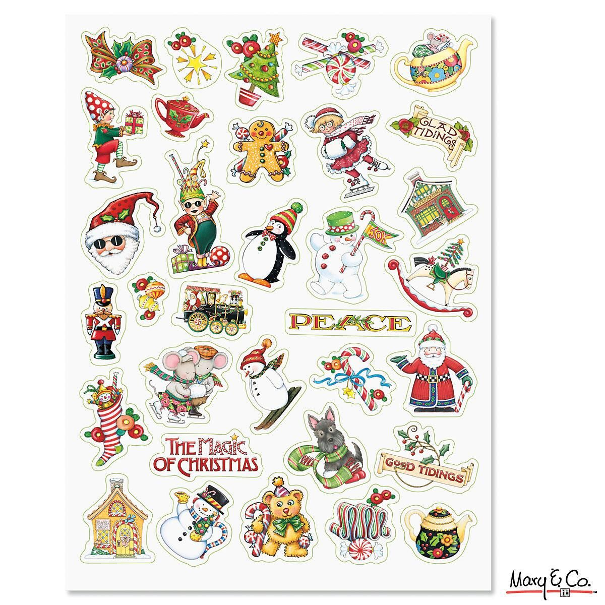 Mary Engelbreit ® Holiday Stickers