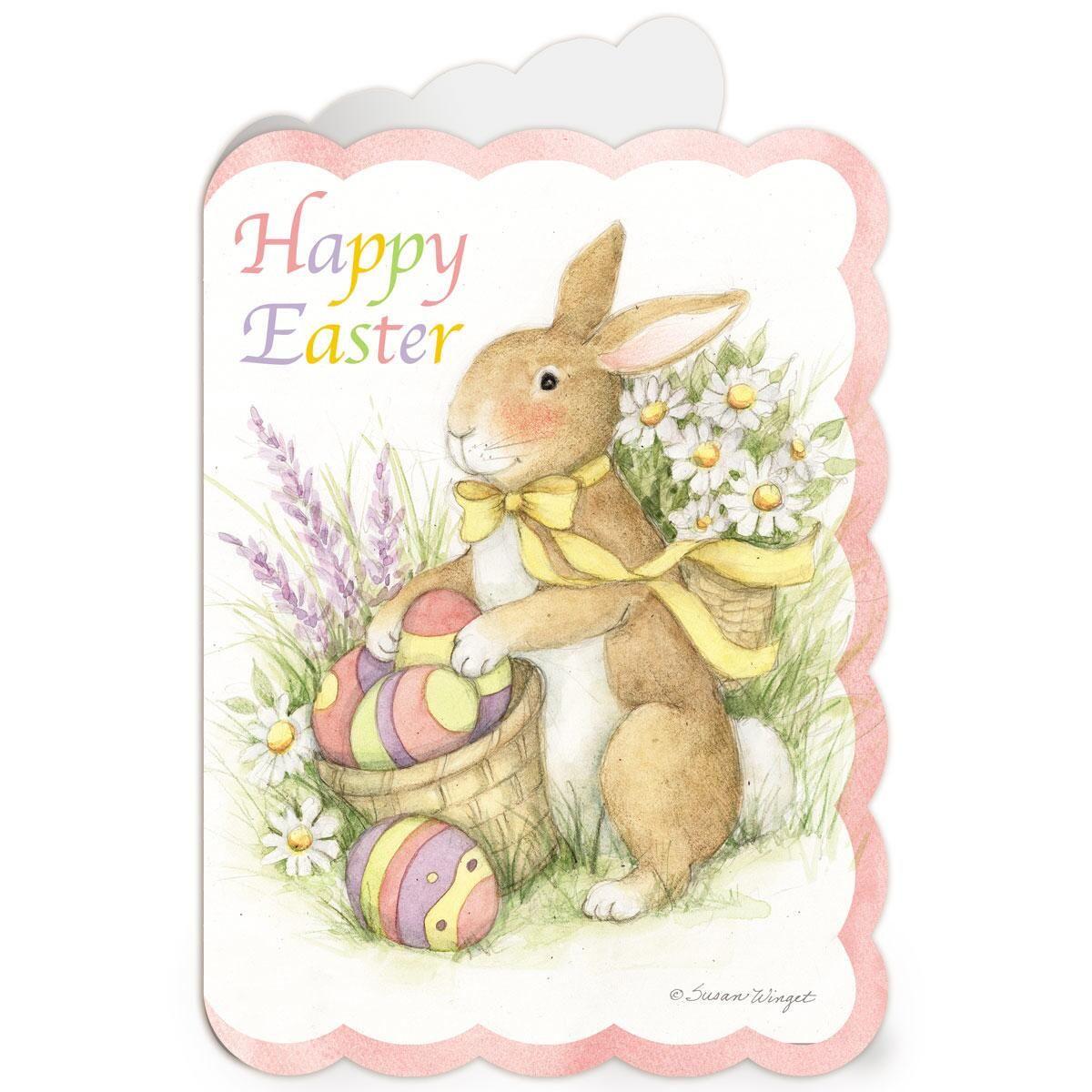 Diecut Bunny Easter Cards