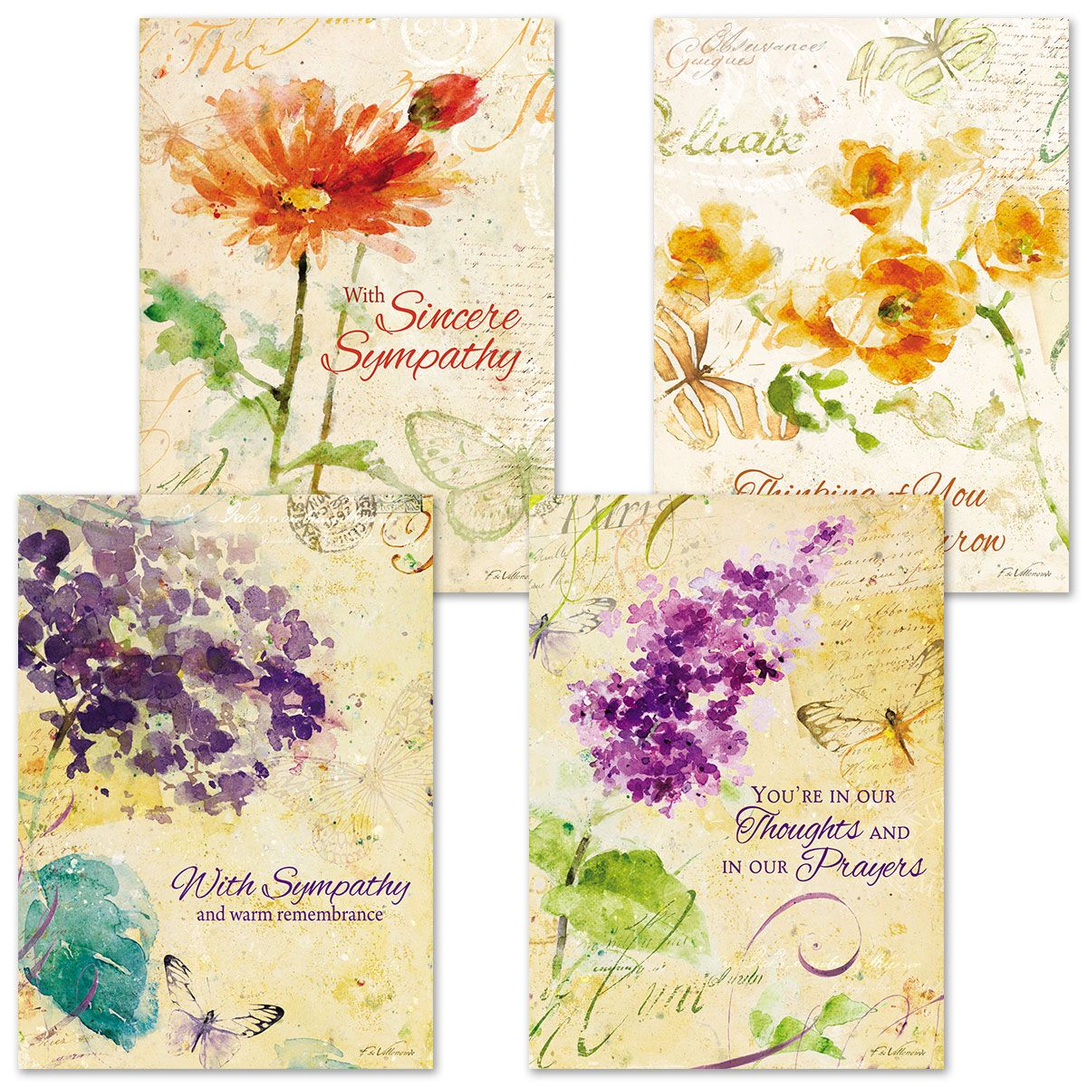 Peace Sympathy Cards & Seals