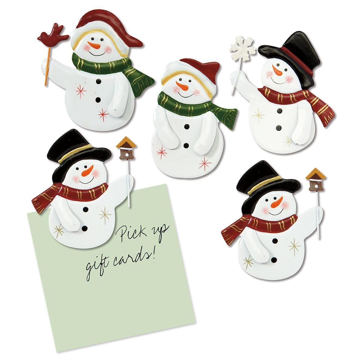Snowman Flexible Magnets