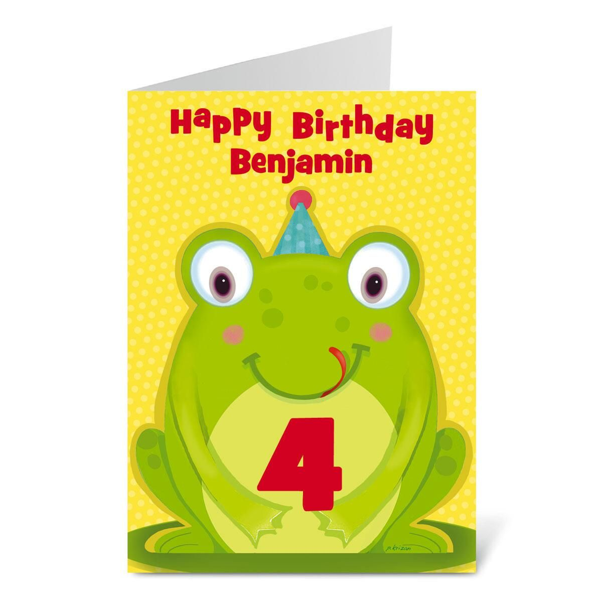 Little Boy Birthday Create-a-Card