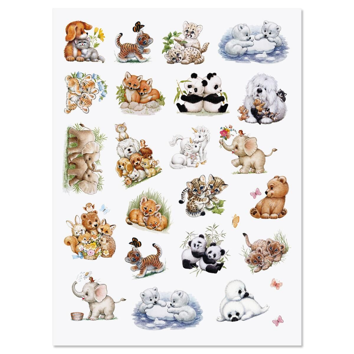 Critter Friends Stickers