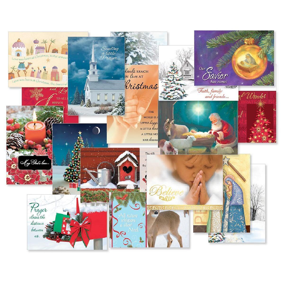 Faith Christmas Card Combo Packs