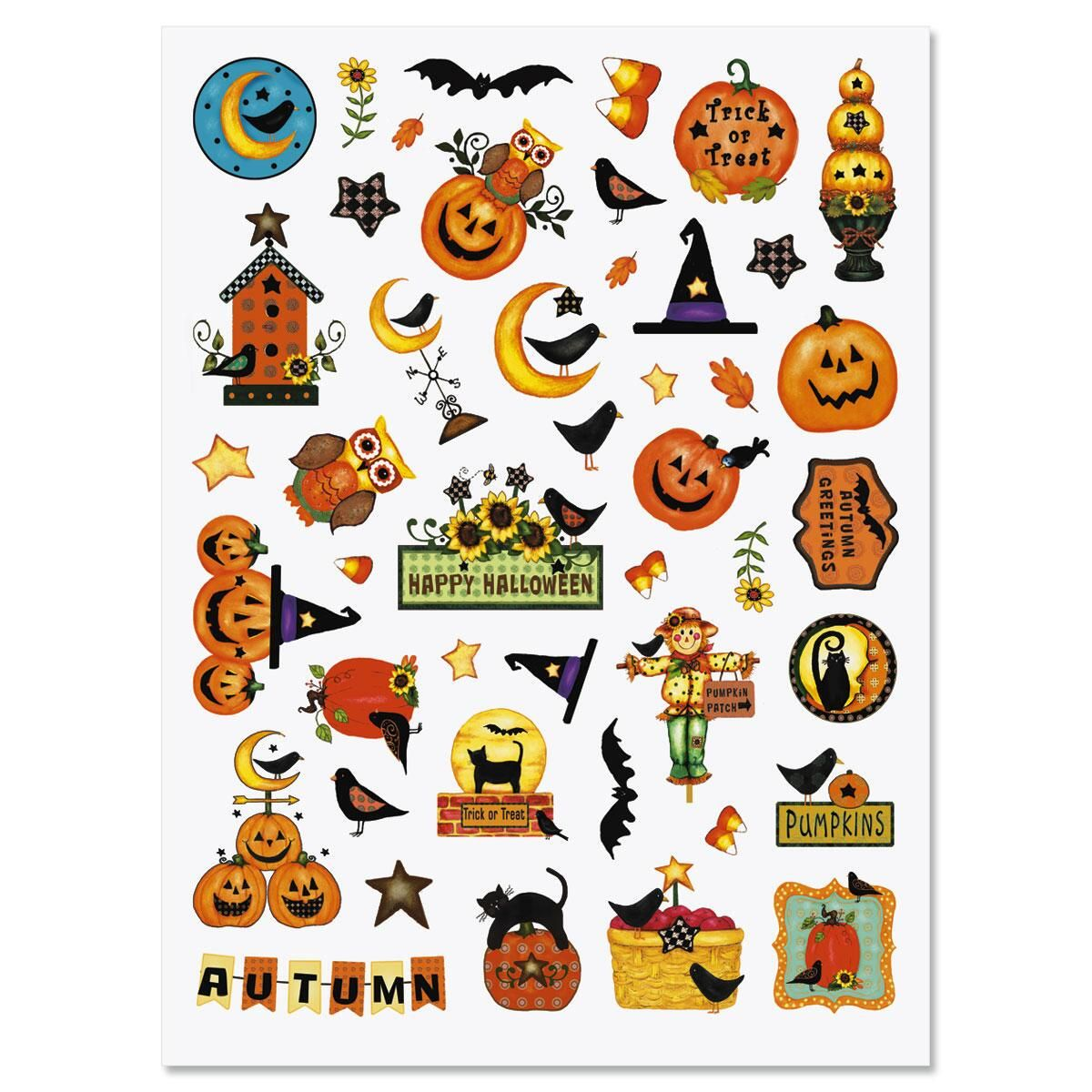 90 Halloween Stickers | Current Catalog