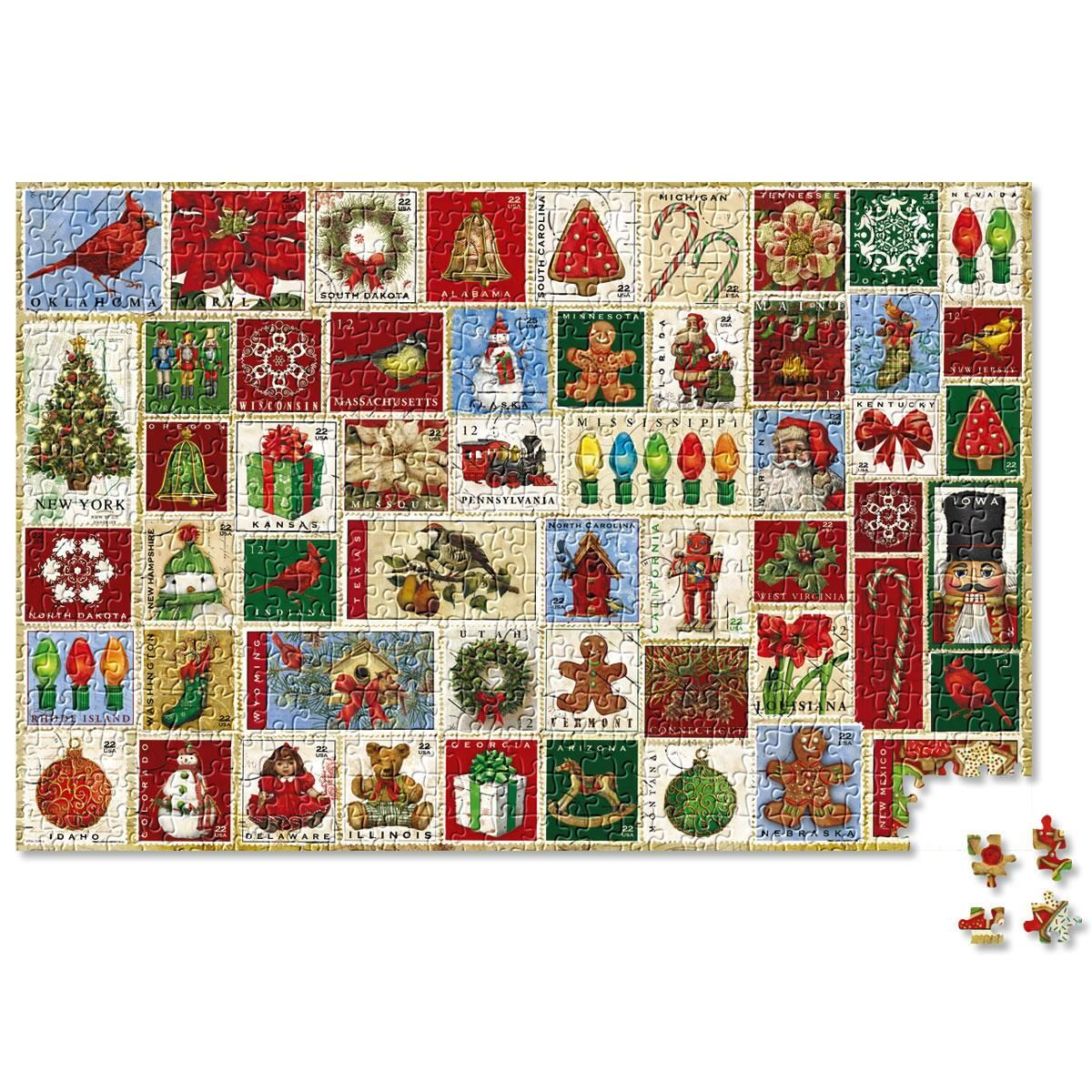 Holidays Stamps Puzzle