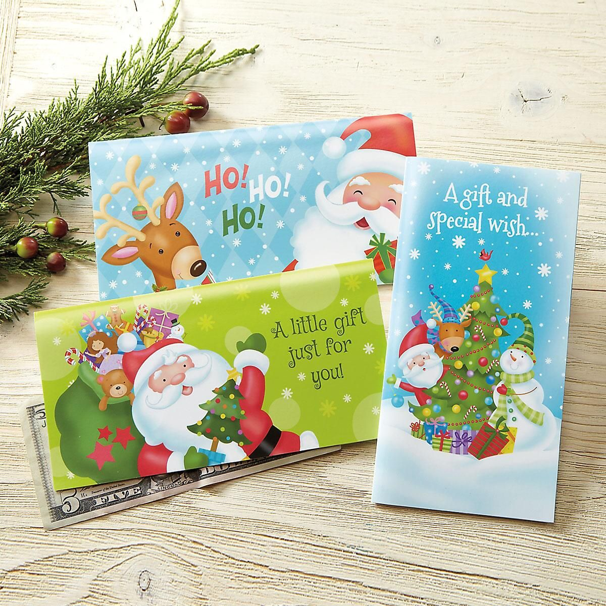 Cute Ones Christmas Money Cards