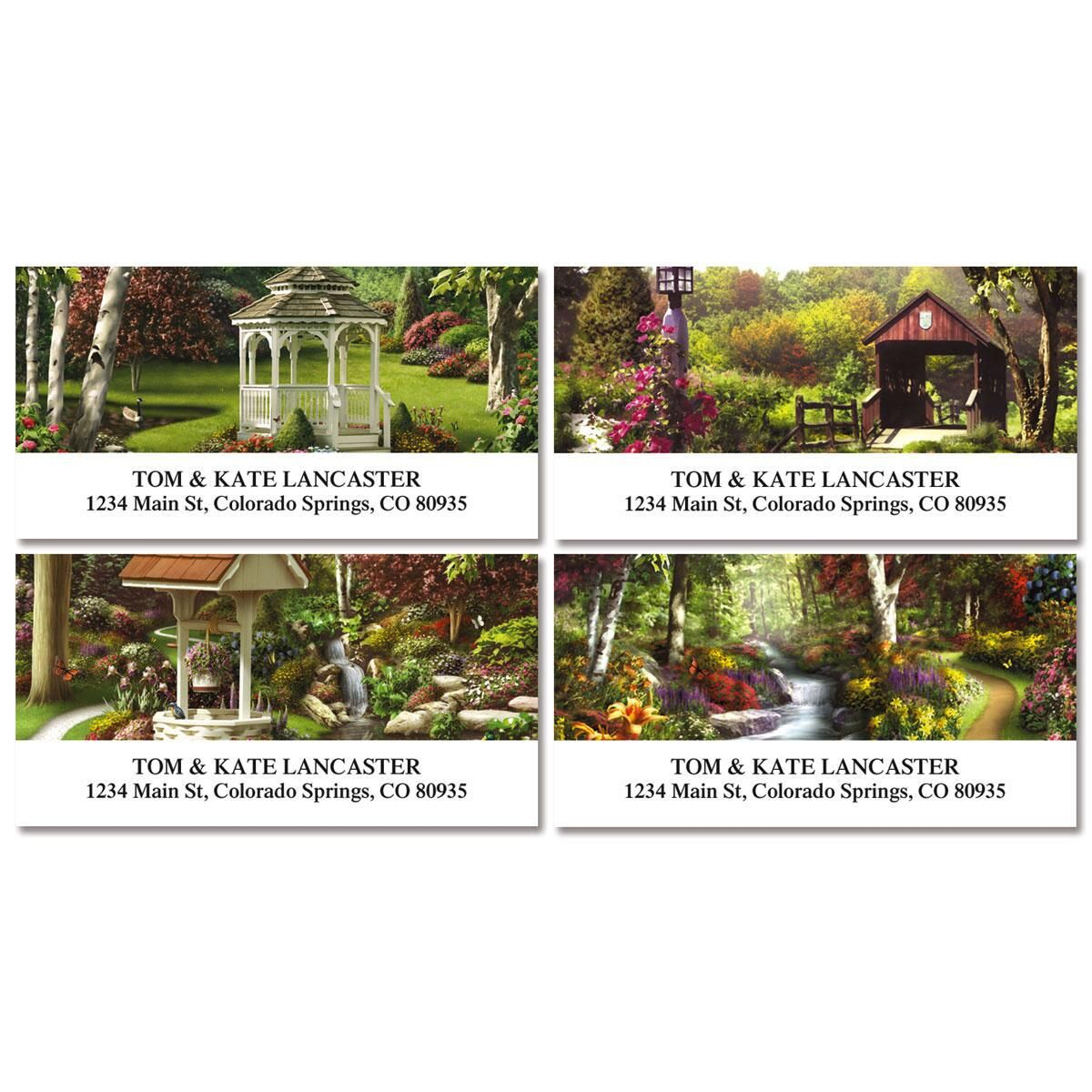 Peaceful Moments Address Labels