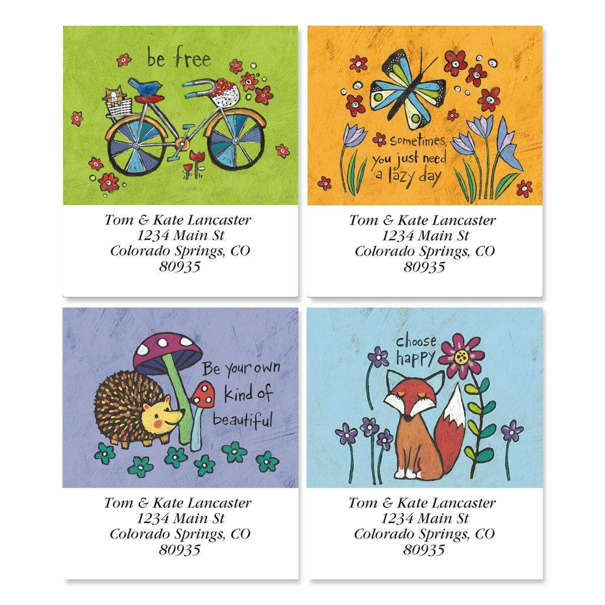 Whimsy Select Address Labels