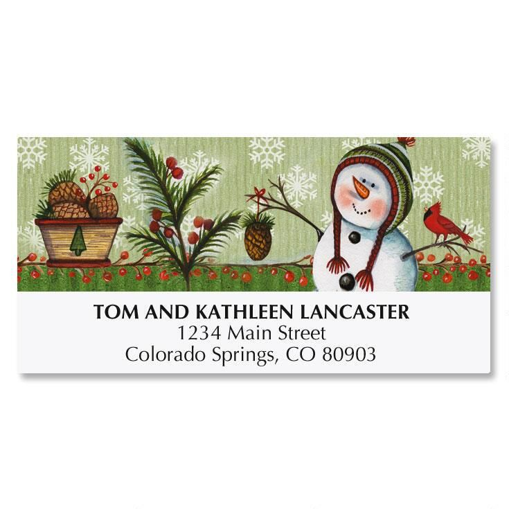 Simple Gifts Deluxe Address Labels