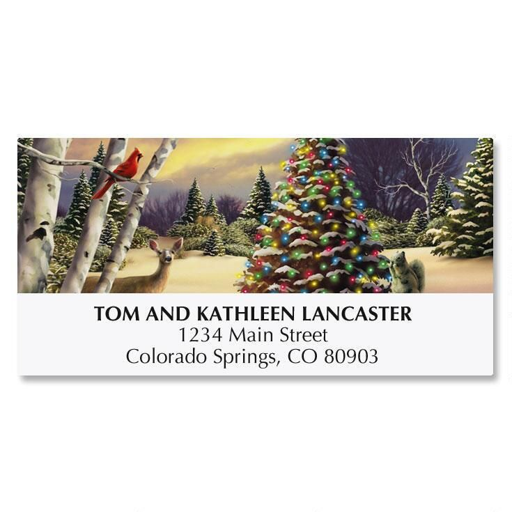 Innocent Light Deluxe Address Labels