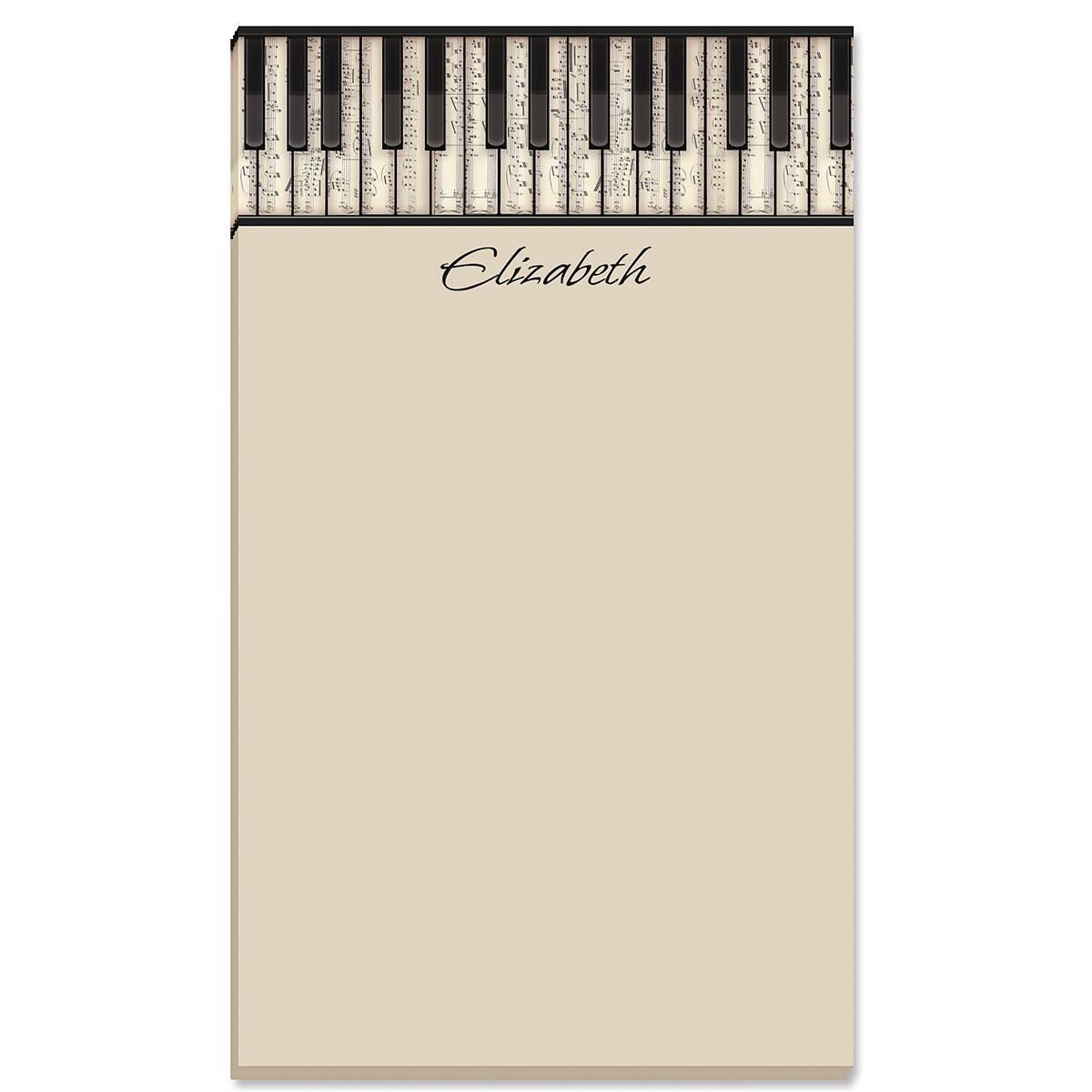 Keyboard Personalized Notepads