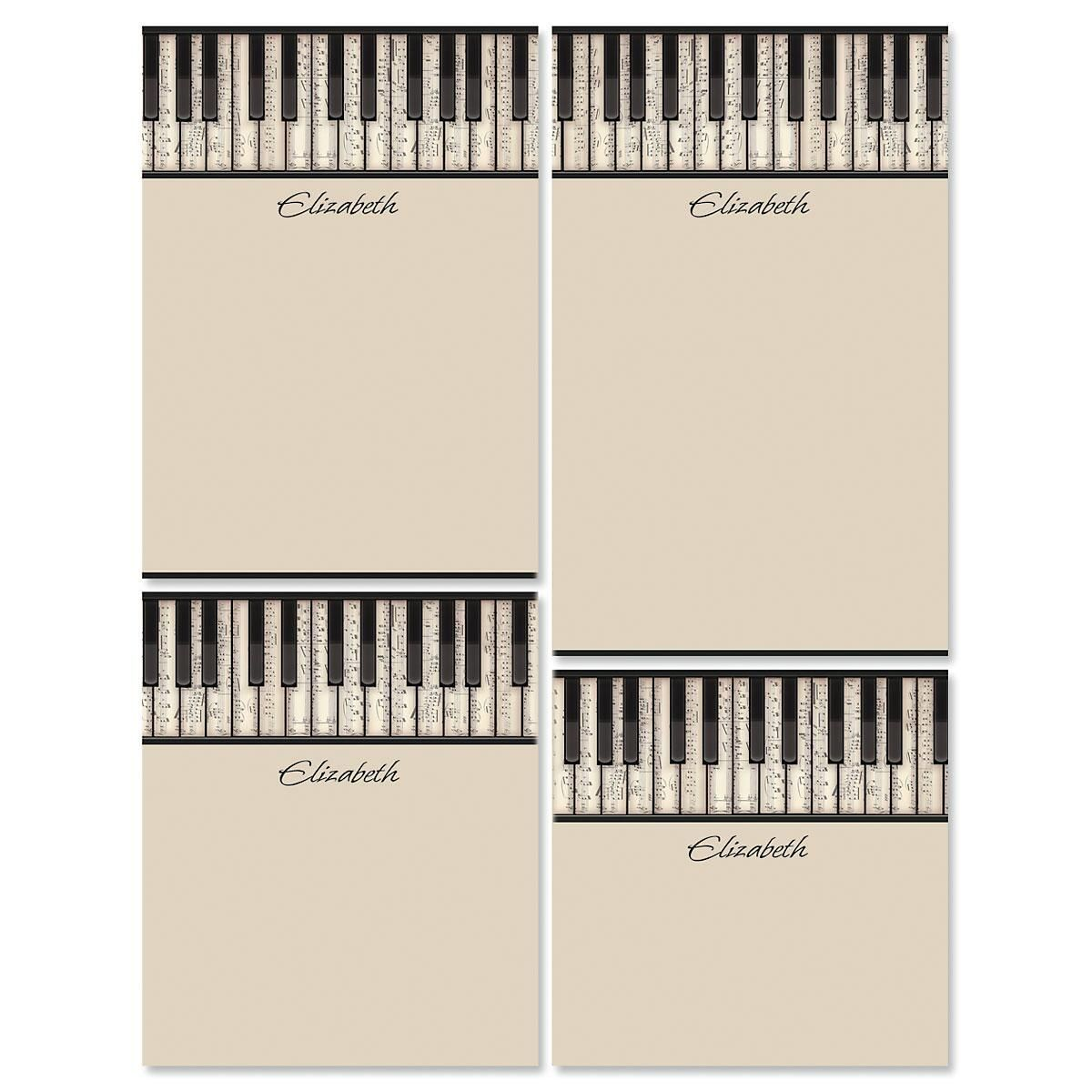 Keyboard Personalized Notepad Set