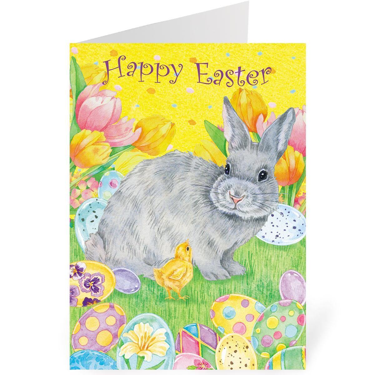 Garden Party Single Design Easter Cards
