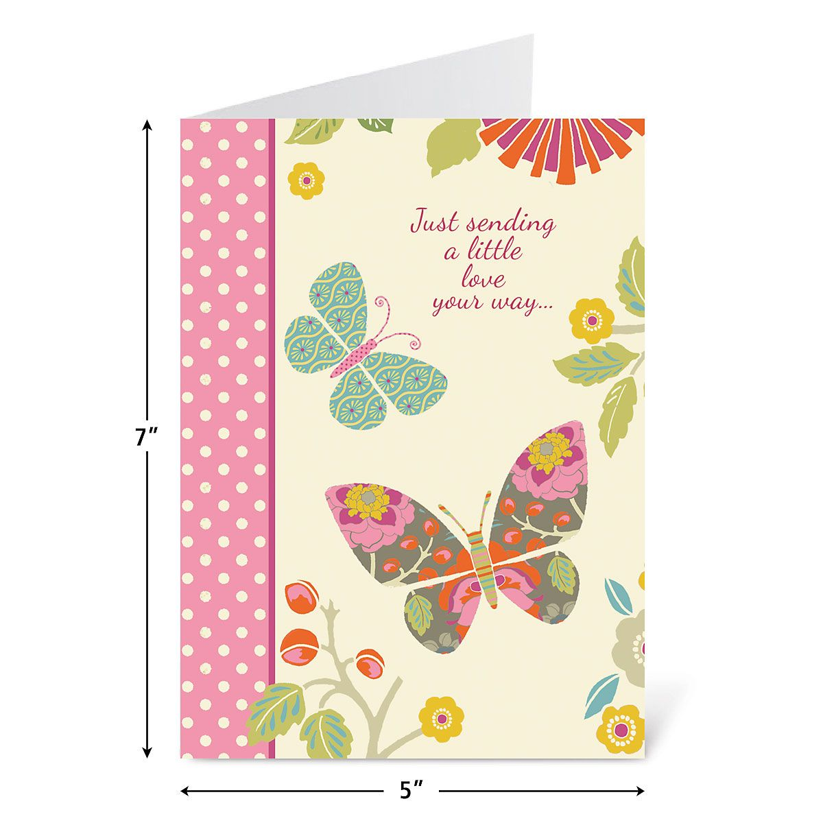 Butterfly Cheer Thinking of You Cards and Seals