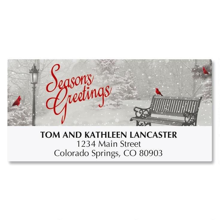 Snowfall Address Labels