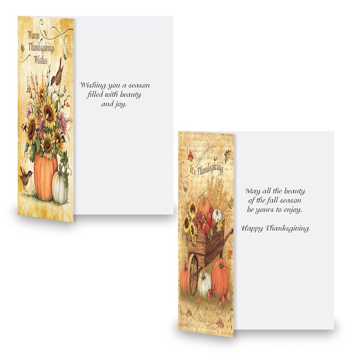Harvest Thanksgiving Cards