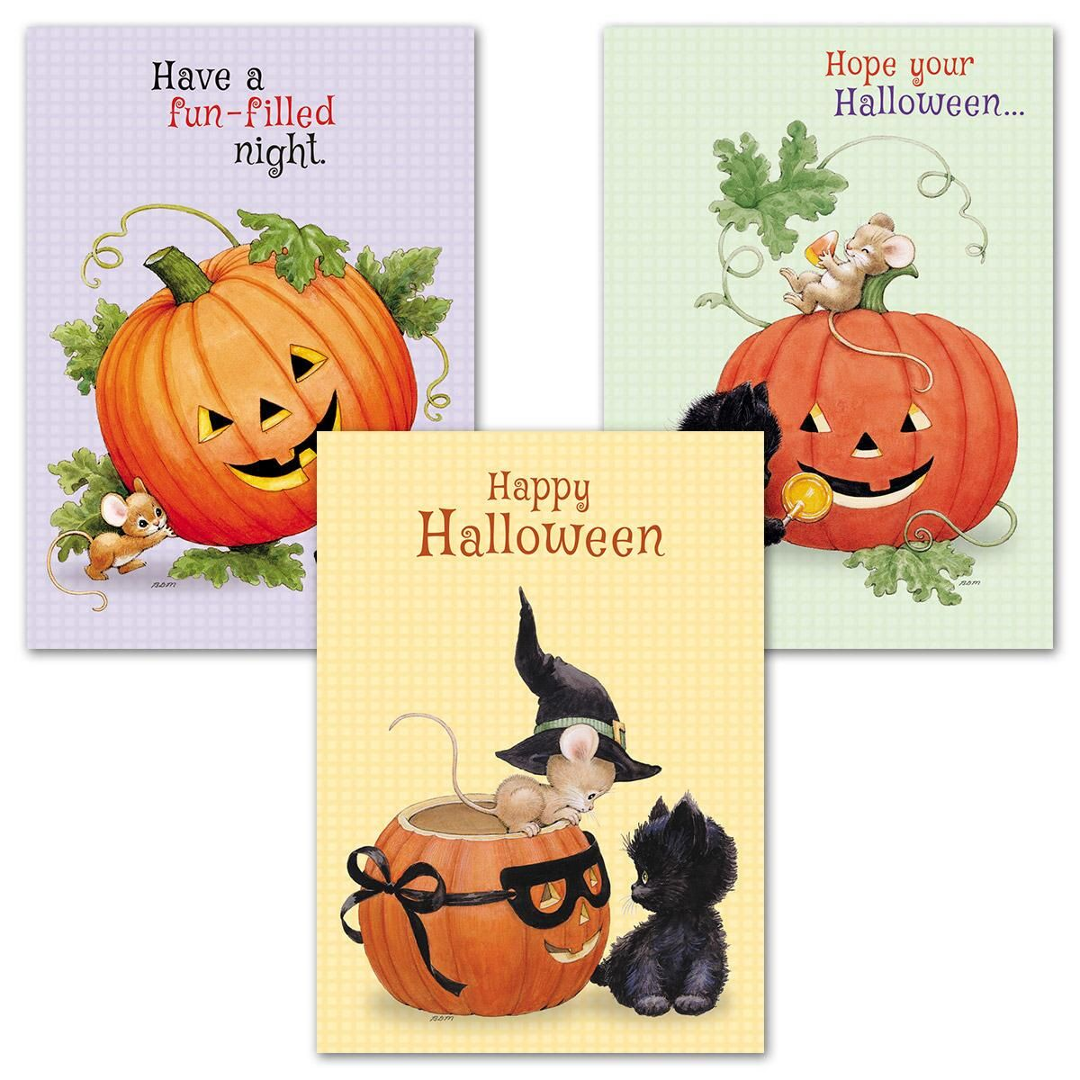 Morehead Kitties Halloween Cards