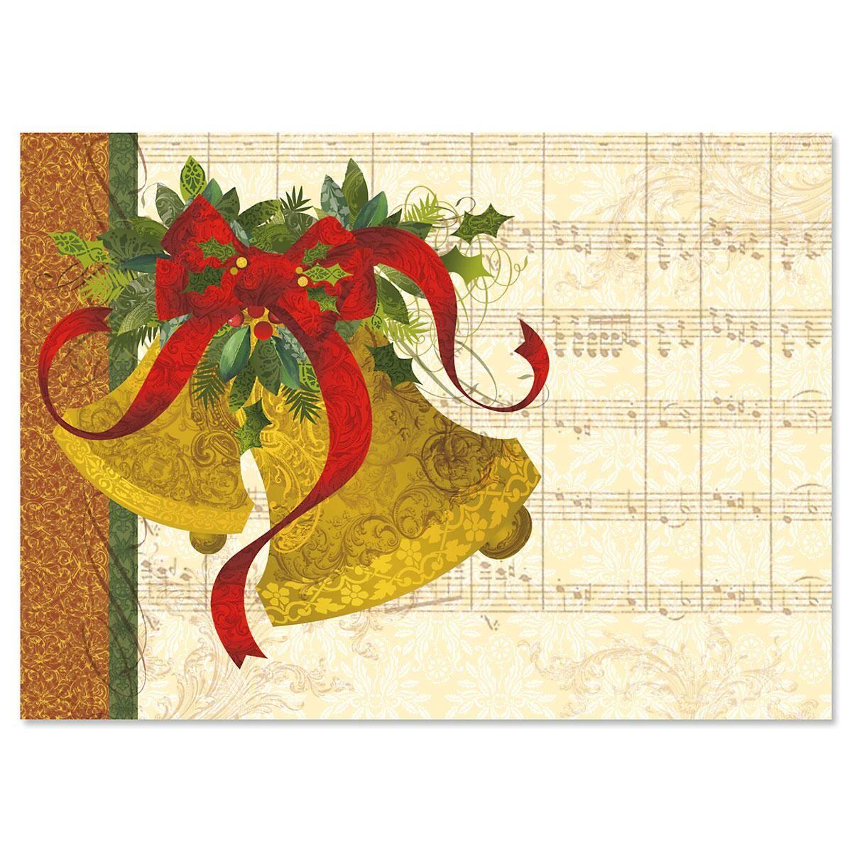 Joyful Bells Deluxe Christmas Cards