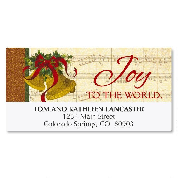 Joyful Bells Deluxe Address Labels