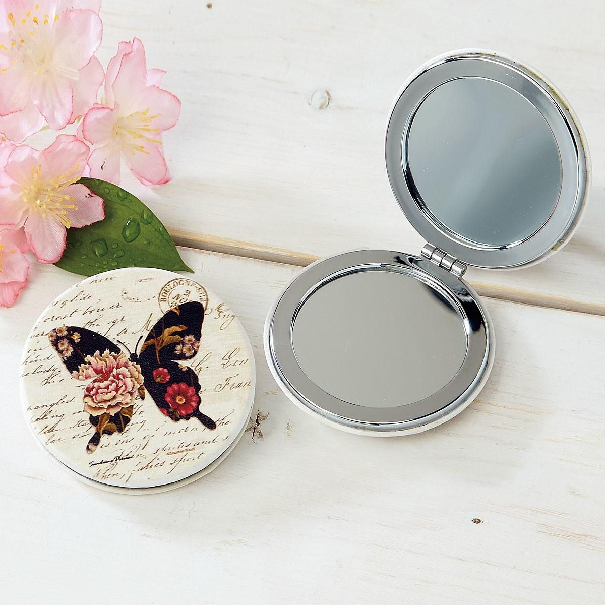 Marabelle Butterfly Compact Mirror