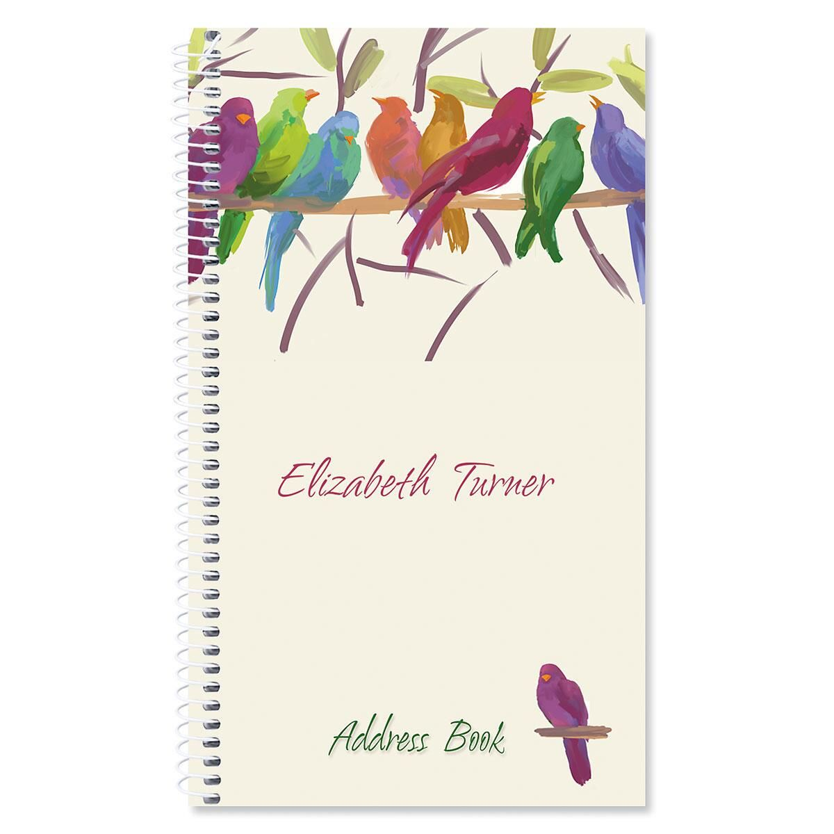 Flocked Together Lifetime Address Book