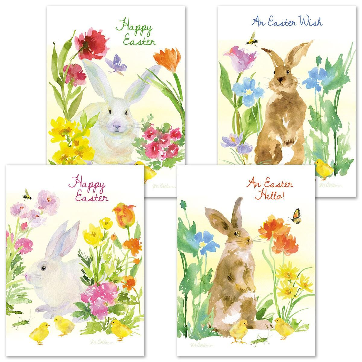 Easter Bunny Easter Cards - Easter Cards - Holiday Cards ...