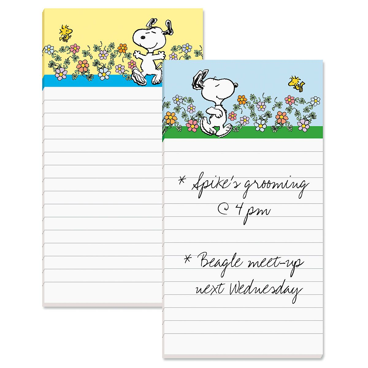 Snoopy™ Lined Magnetic Notepads
