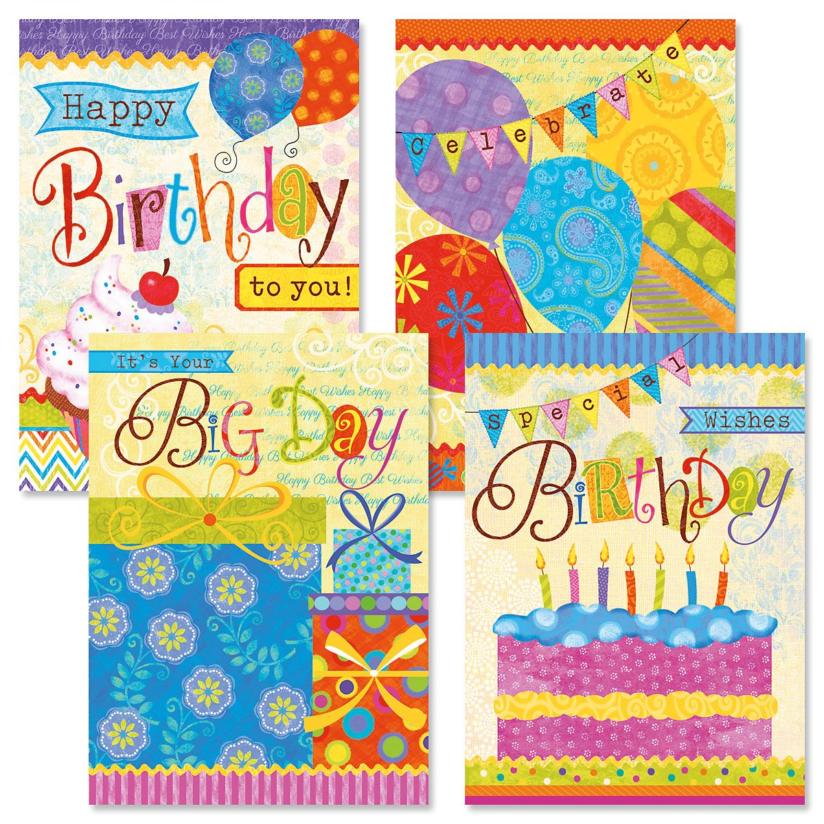 Birthday Banners Birthday Cards and Seals