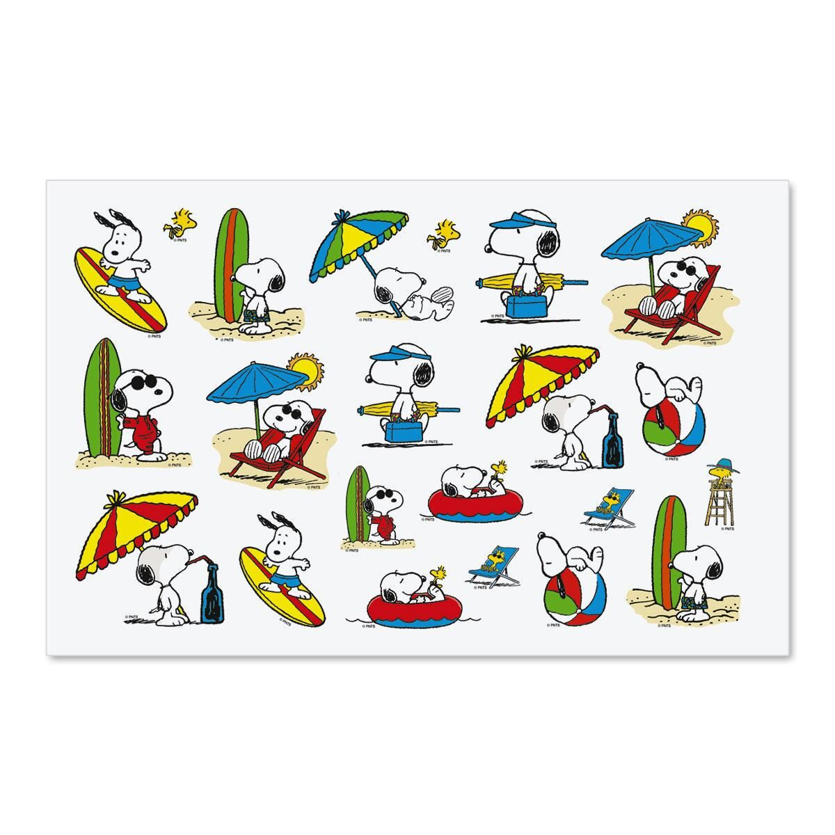 Snoopy's™ Summertime Fun Seals