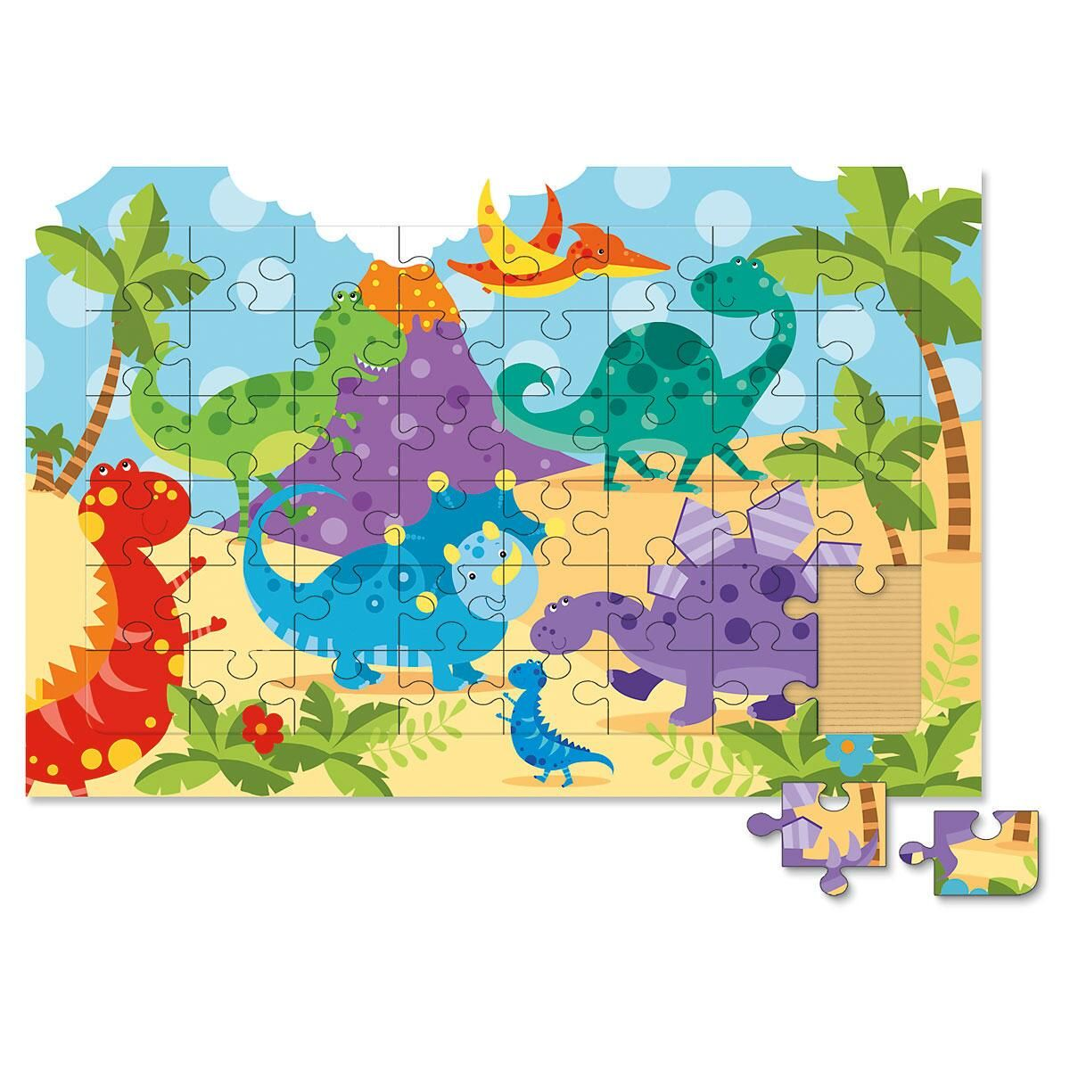 Dinosaurs Board Puzzle
