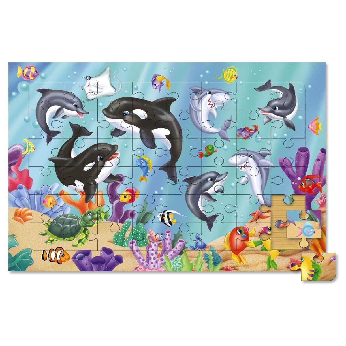Ocean Scene Board Puzzle