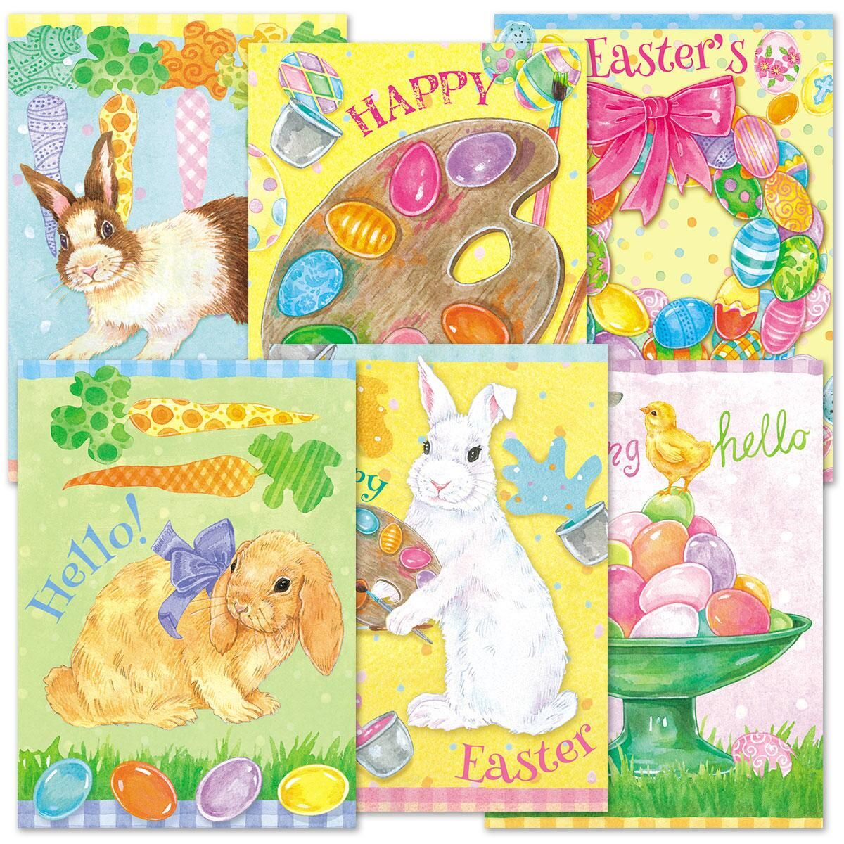 Easter Welcome Cards