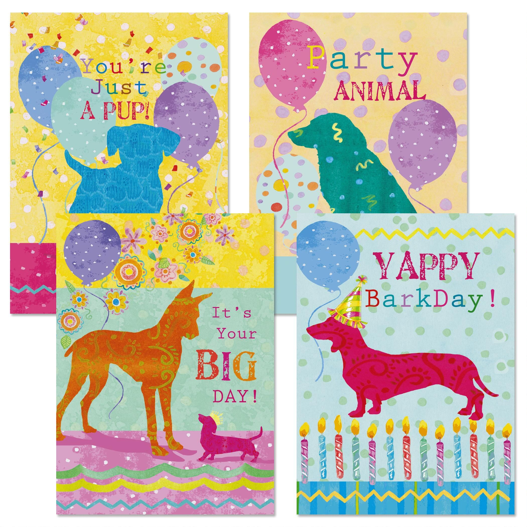 Whiskers & Wags Birthday Cards and Seals
