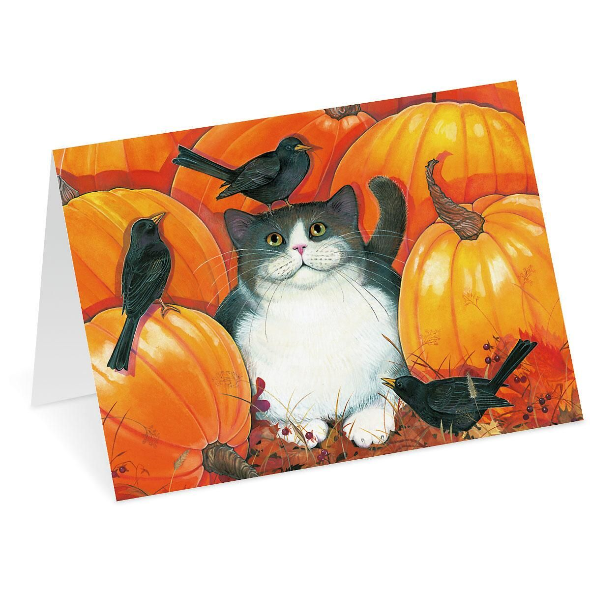 Feathered Friends Thanksgiving Cards