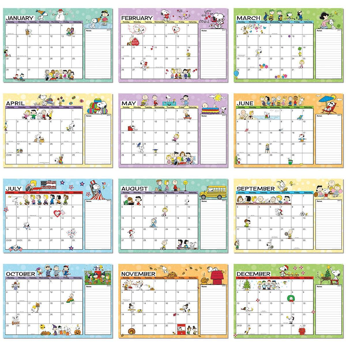 Desk Calendar Pad 2018 Hostgarcia