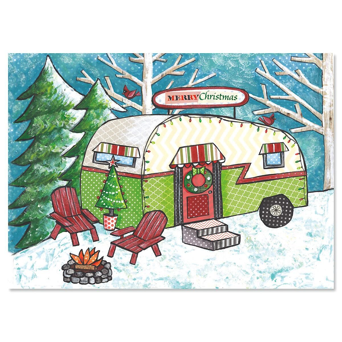 Homeward Bound Nonpersonalized Christmas Cards - Set of 18