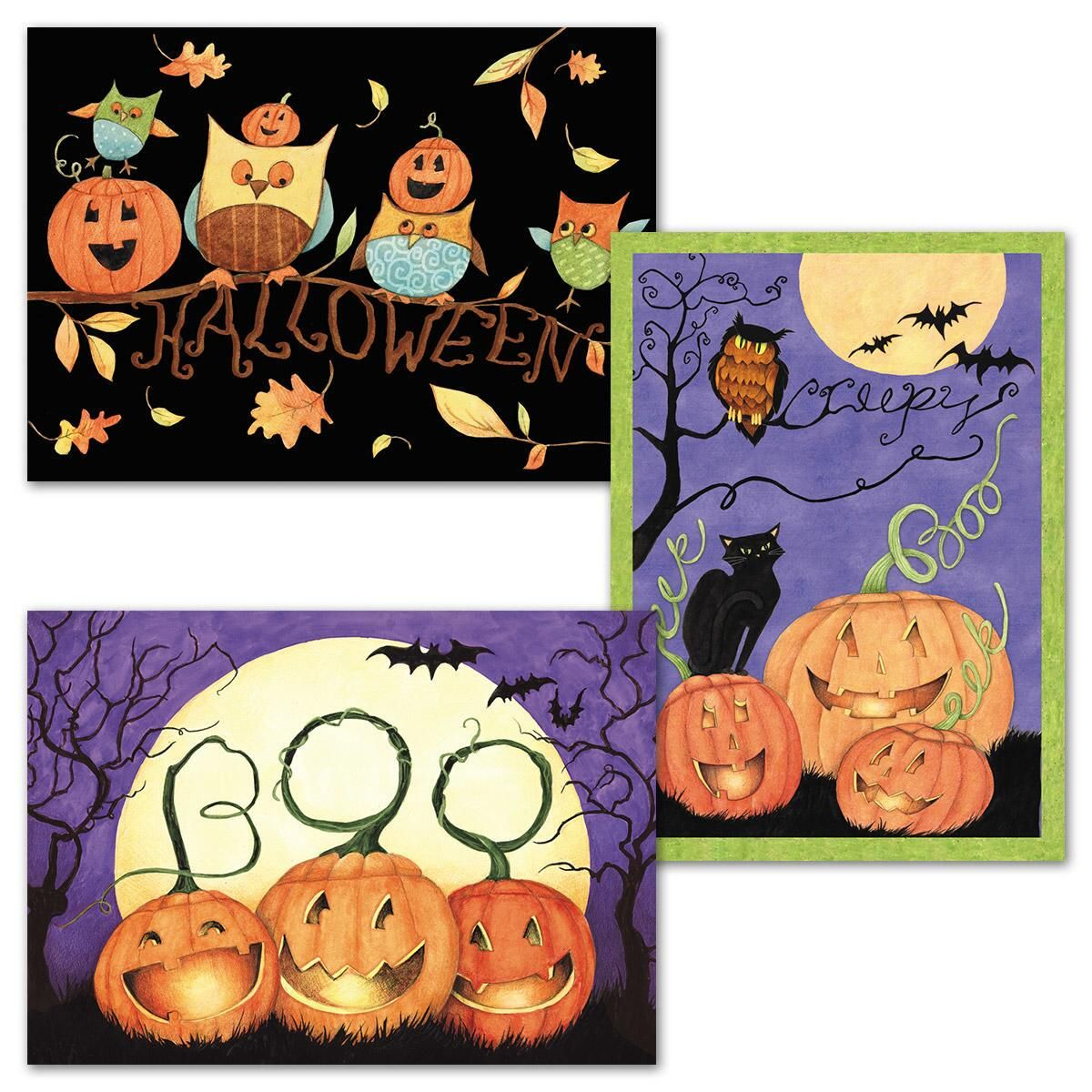Ghoulish Night Greeting Cards