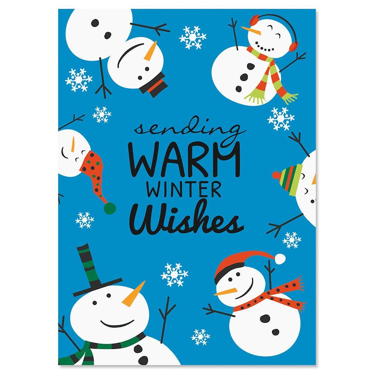 Holiday Time Christmas Cards