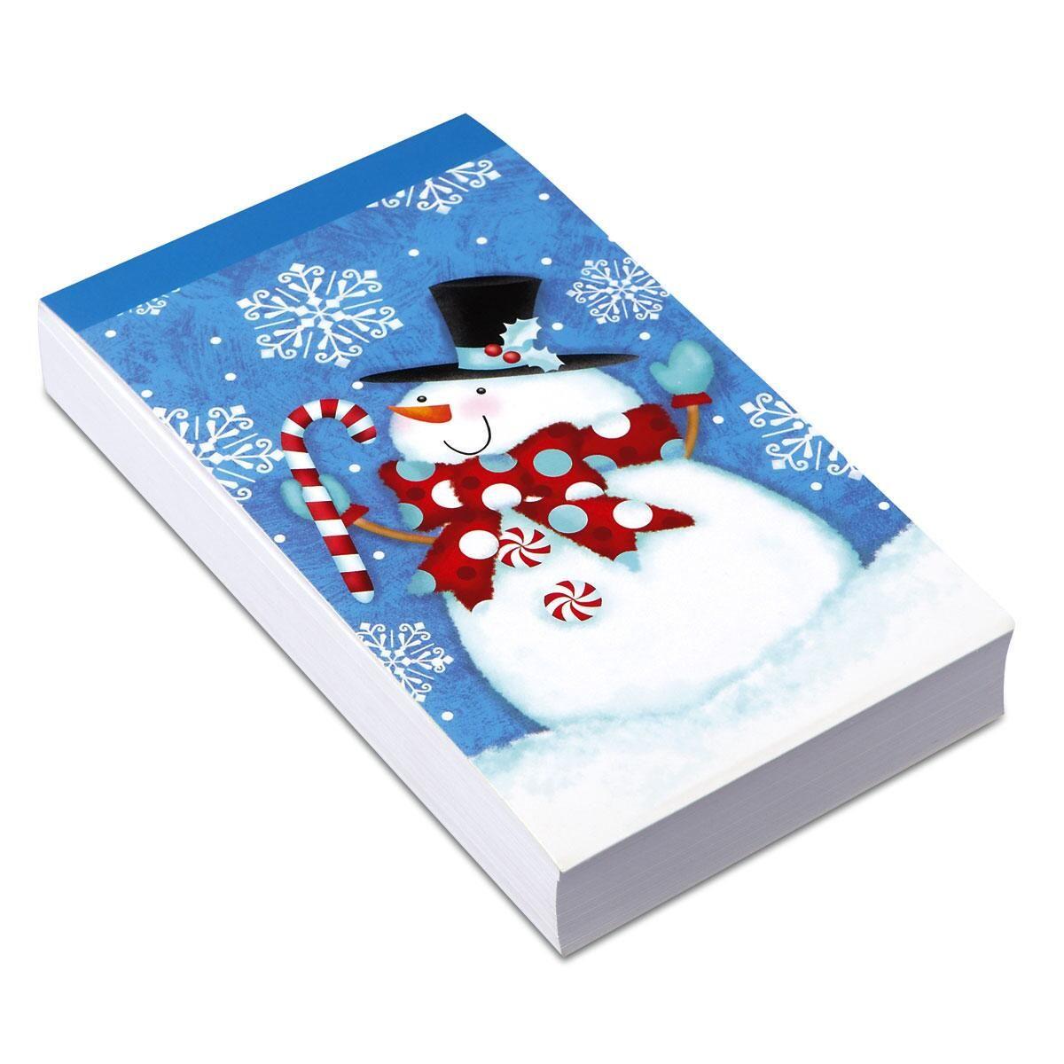 Snowman Chunky Notepad