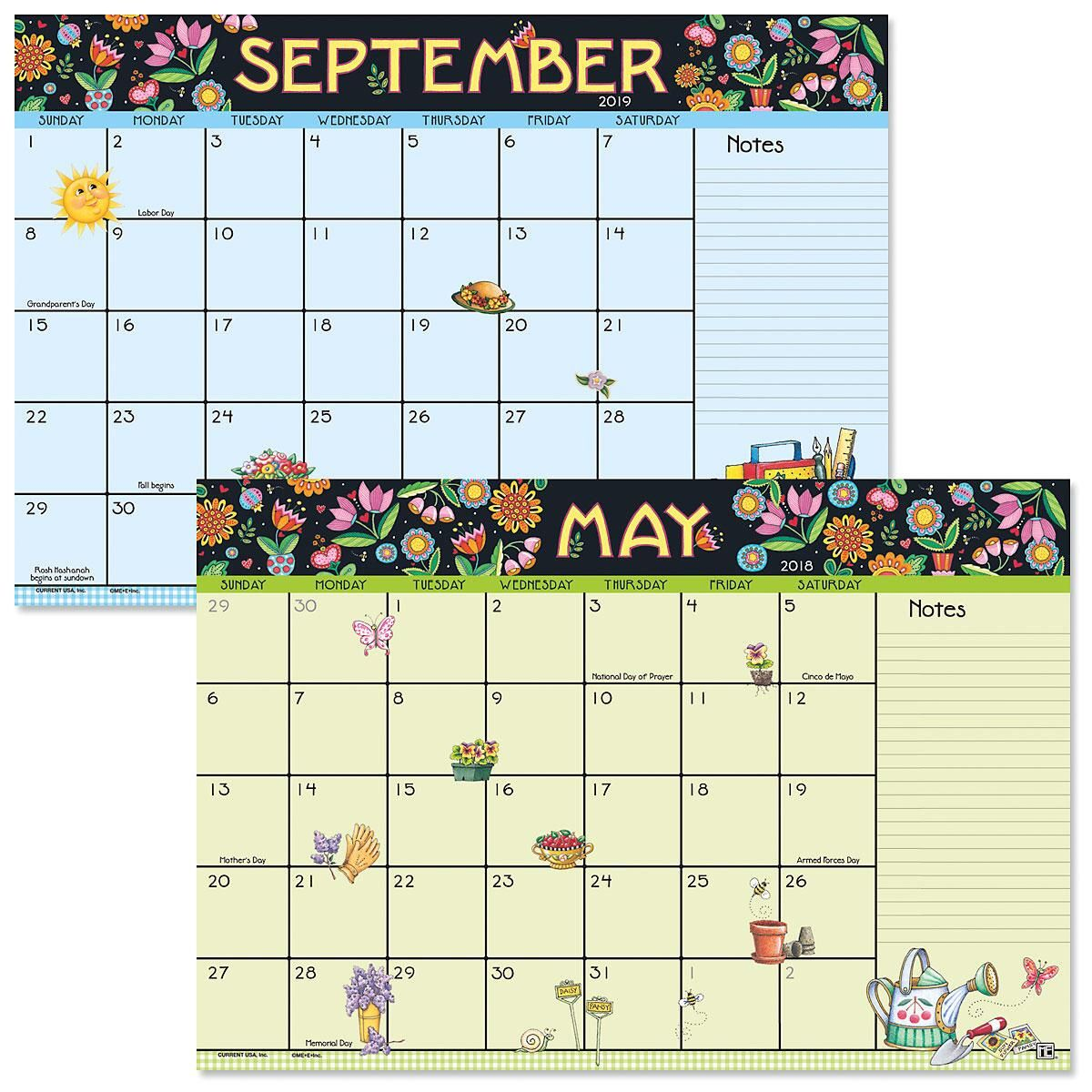 Mary Engelbreit 2018-2019 Calendar Pad | Current Catalog